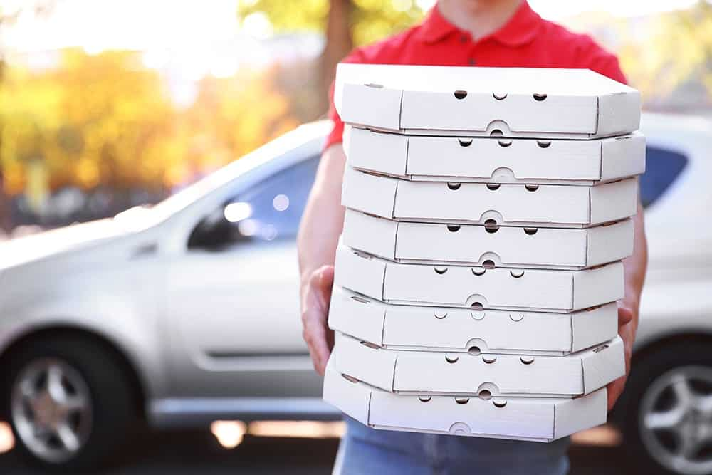 Do I need special insurance to deliver pizza in the UK